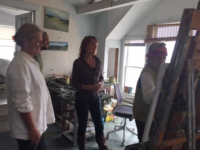 Anne's family approves a change to the painting.