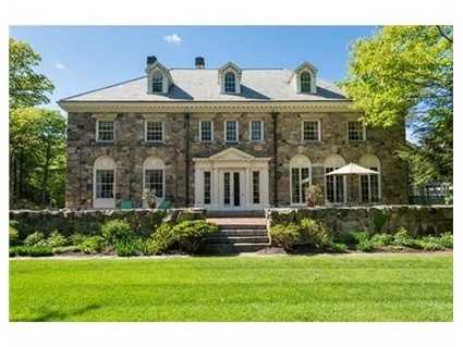 100 Meadowbrook Road is on the market in Dedham for $2.6 million.