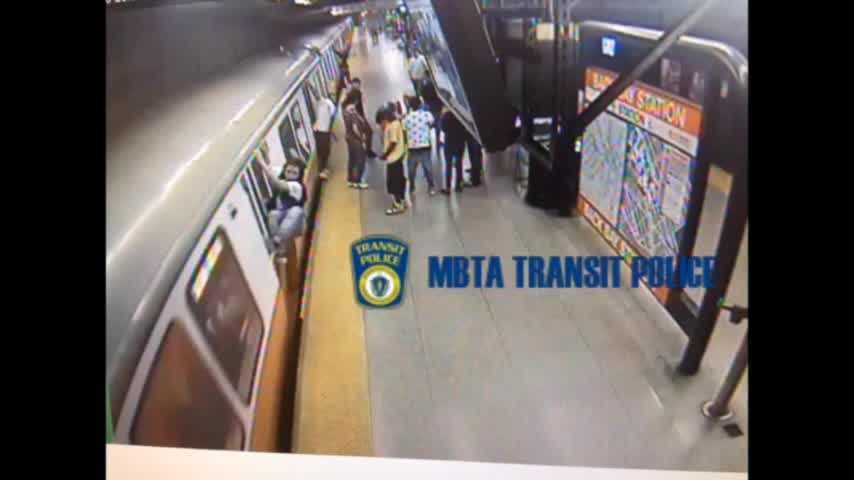 Teenager arrested for train surfing on MBTA Orange Line