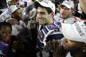 While Garoppolo did not take any snaps in the New England Patriots' Super Bowl XLIX win, he was credited with helping to prepare the Patriots defense for Seattle Seahawks quarterback Russell Wilson.