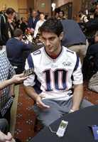 On June 3, 2014, Garoppolo signed a four-year contract with the Patriots worth a maximum of $3.48 million.