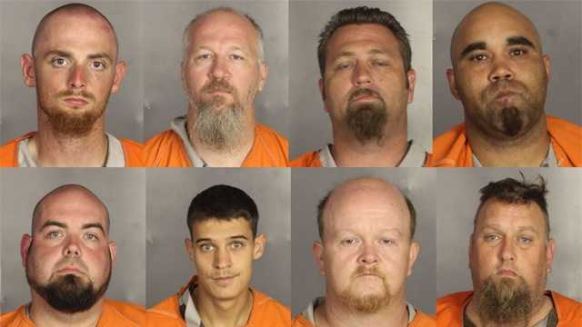 A deadly weekend shootout involving rival motorcycle gangs apparently began with a parking dispute and someone running over a gang member's foot, police said.The shootout left nine people dead and 18 wounded. About 170 bikers have been charged with engaging in organized crime