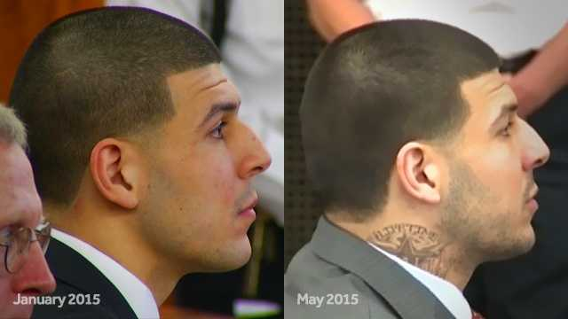 Hernandez prison tat what does 39 lifetime 39 mean for Aaron hernandez neck tattoo meaning