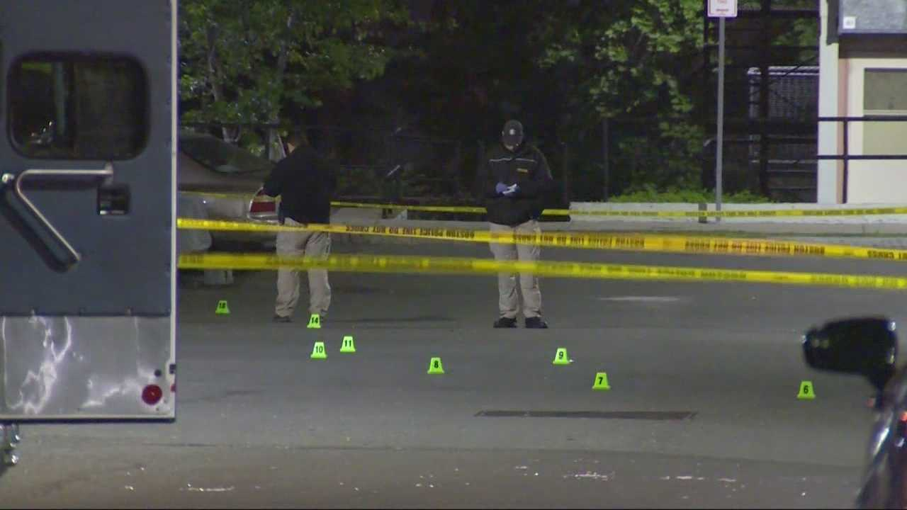 Police are investigating a fatal overnight shooting in Roxbury Saturday morning.