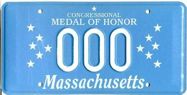 Congressional Medal of Honor -- Issued to veterans who have received the Congressional Medal of Honor