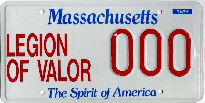 Legion of Valor --issued to members of the Legion of Valor of the USA, Inc. Legion of Valor Members