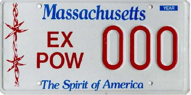 Ex-POW -- Issued to former prisoners of war.