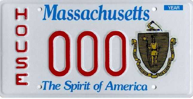 House -- Issued to elected members of the Massachusetts House of Representatives.