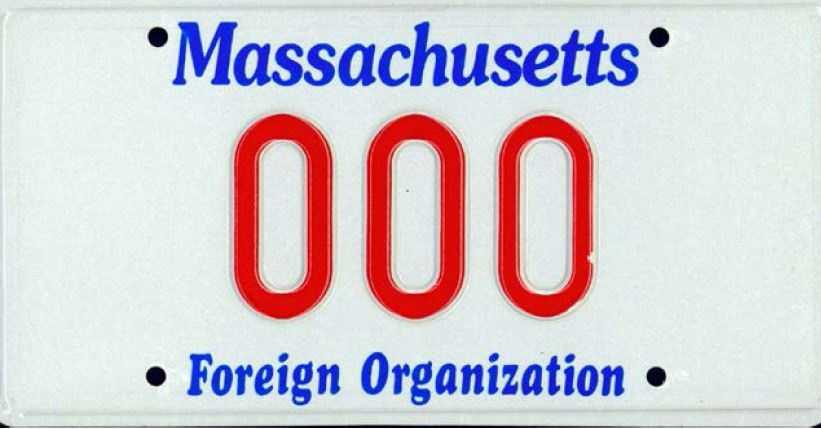 Foreign Organization --issued to certain foreign organizations.