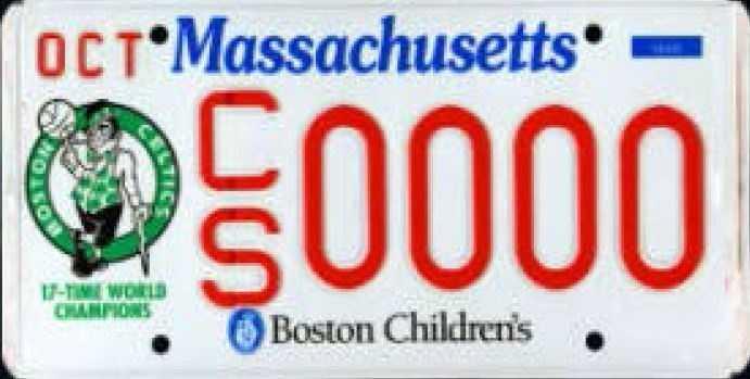 Boston Celtics -- Proceeds go to the Boston Celtics Shamrock Foundation.