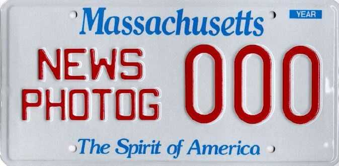 News Photographer -- Issued to members of the Boston Press Photographer's Association.
