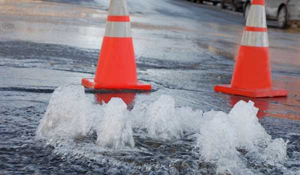 A major water main break cut off water to several communities.