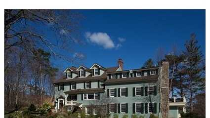 5 Eustis Road is on the market in Marblehead for $3.4 million.