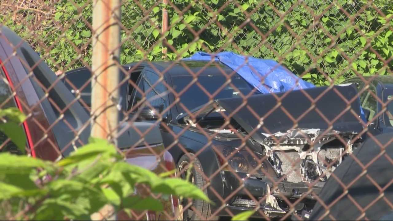 Police are investigating after the car of New England Patriots linebacker Brandon Spikes was found abandoned on I-495 early Sunday morning.