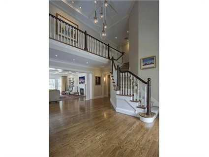 Casual sophistication best describes this stunning custom colonial.
