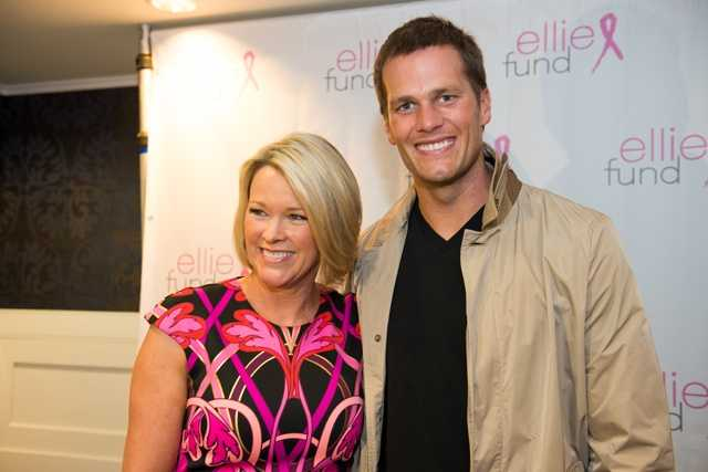 Tom Brady with NewsCenter 5's Heather Unruh