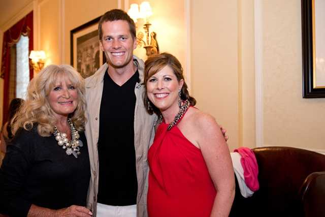 Susan Wornick, Tom Brady and Kelley Tuthill