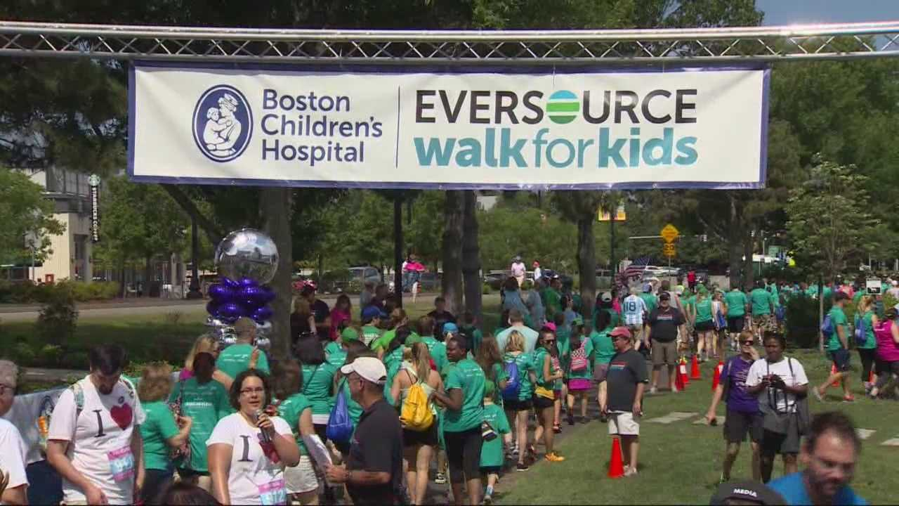 This is the 13th year that Boston Children's Hospital has hosted the walk.  Eversource (formerly NSTAR) has been the lead sponsor since 2007.
