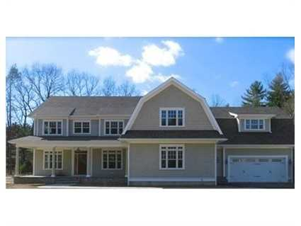 Stunning NEW CONSTRUCTION in highly sought after cul de sac neighborhood in North Wayland.