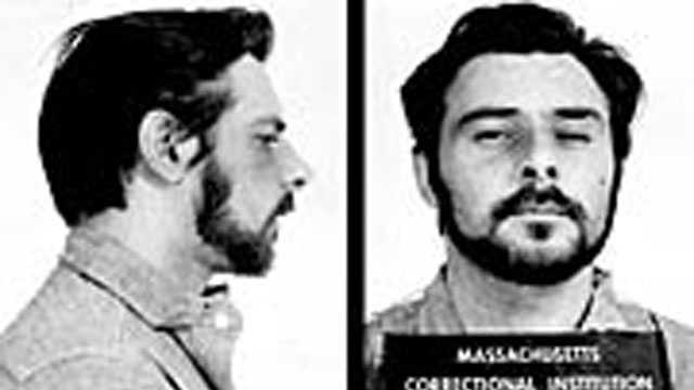 "Charles Fierro. Escaped in 1973. At the time of his escape, he was serving a 5-10 year state prison term for uttering. Fierro is described as a white male, 5'5"" tall, 168 pounds, black hair and brown eyes"