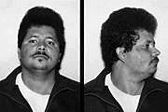 "Joaquin Cortorreal. Escaped from the custody on October 1, 1993. At the time of his escape, he was serving a 5-10 year state prison term for trafficking in cocaine. Cortorreal is described as a Hispanic male, 5'8"" tall, 190 pounds, brown hair and brown eyes."