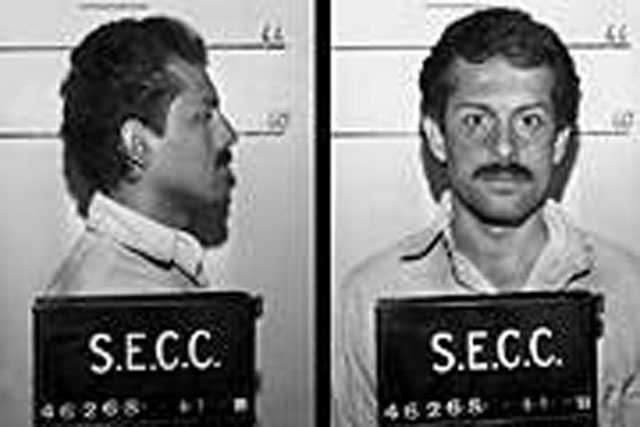 Ramon Salinas. Escaped in 1991. At the time of his escape, he was serving a 3-5 year state prison term for trafficking in cocaine. Salinas is described as a Hispanic male, 5 ft. 7 in. tall, 135 pounds, black hair and brown eyes.