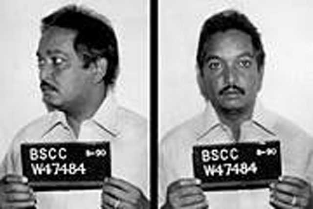 Jesus Roque-Tavares. Escaped in 1990. At the time of his escape, he was serving a ten year state prison term for trafficking in cocaine. Roque-Tavares is described as a Hispanic male, 5 ft. 4 in. tall, 140 pounds, brown hair and brown eyes.