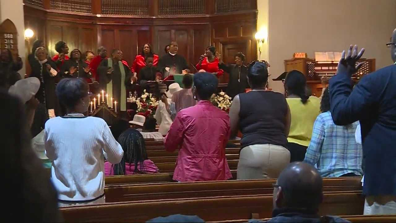 Religious and community leaders in Boston showed solidarity with the South Carolina community on Sunday in the wake of a deadly church shooting.