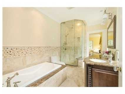 5 full marble and travertine baths