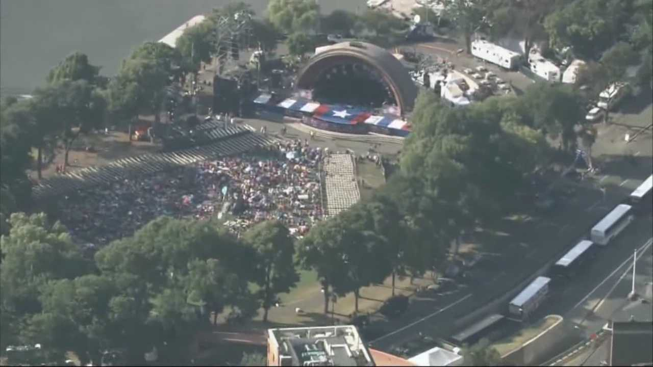 Thousands will fill Boston's esplanade to celebrate the Fourth of July next weekend, and police will be on high alert during the festivities.