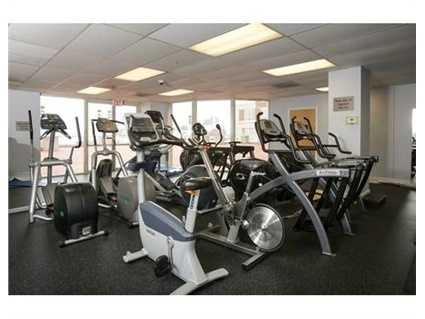Access to fitness center.