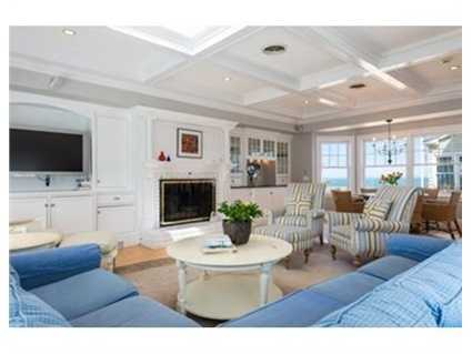 Beautifully crafted,this seaside Victorian home offers an inviting, open floor plan ideal for entertaining and family gatherings.