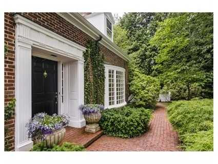 Superbly redesigned residence on one of the most desirable streets in Chestnut Hill.