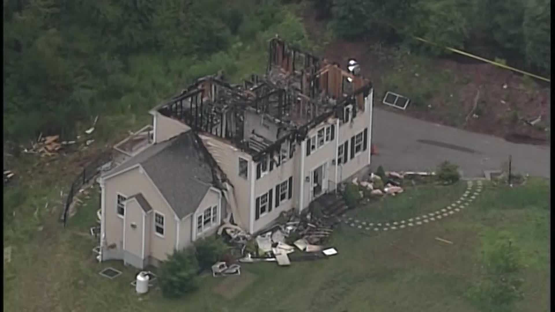 The pilot of a small plane that crashed into a Massachusetts home over the weekend, killing all three people on board, calmly told an air traffic controller he has no engine power and is gliding in the minutes before impact.