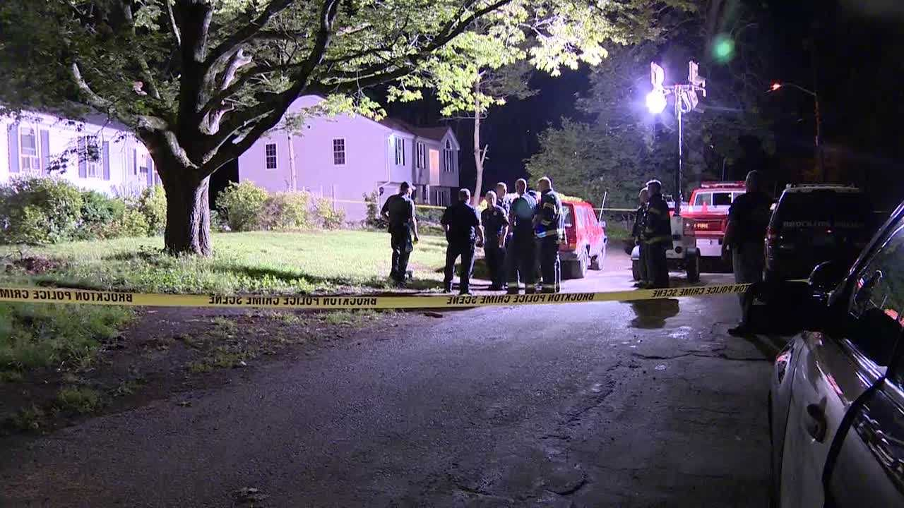 Officials are investigating a fatal, police involved shooting in Brockton.
