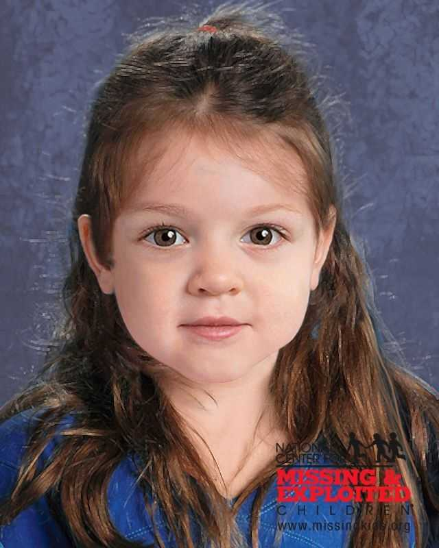An artist rendering of what the girl may look like. Please note that it is not a photograph.