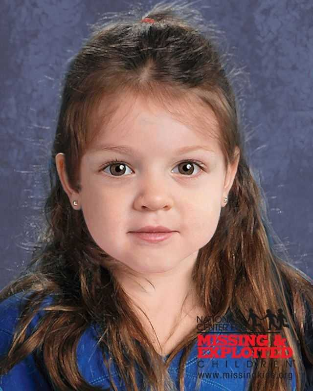 A computer-generated image released on Thursday, July 9, shows the young girl had pierced ears.