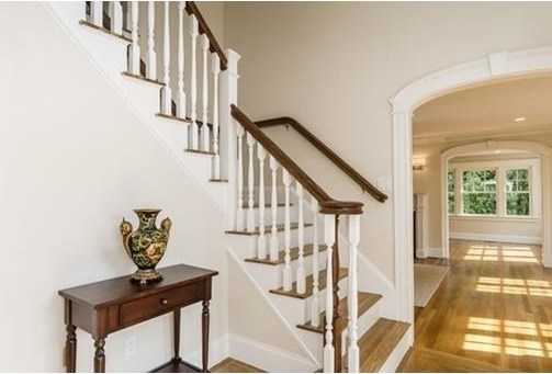 in one of Brookline's most sought after neighborhoods, this gracious home offers an open floor plan, professionally landscaped grounds and two car garage parking.
