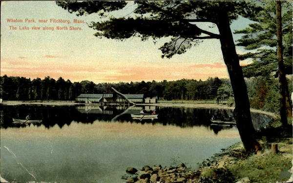 Whalom Park.  Was on Lake Whalom in Lunenburg and operated from 1893 to 2000.