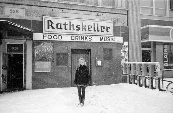 The Rathskeller live music venue in Boston that was open from 1974 to 1997.