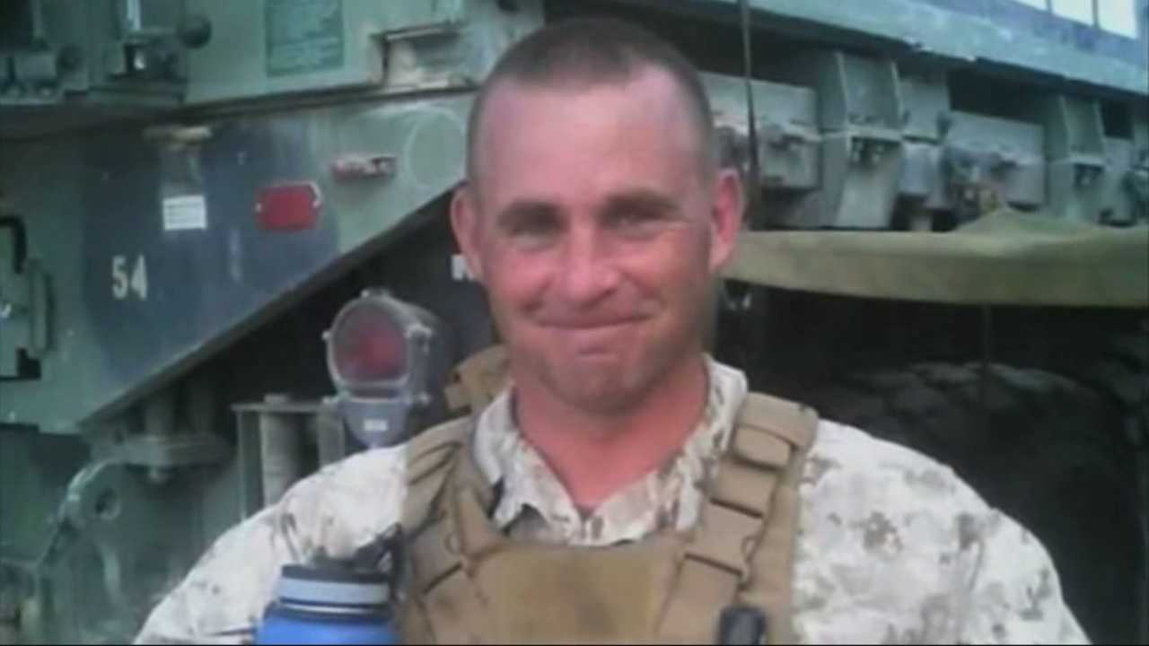 Gunnery Sgt. Thomas J. Sullivan of Hampden, Massachusetts was one of four Marines killed Thursday by a gunman who attacked two military sites in Tennessee. Sullivan was deployed twice during the Iraq war and received two Purple Hearts.