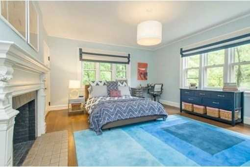 The 2nd and 3rd floor features seven bedrooms and four baths including a fabulous fireplaced master suite w/double closets, steam shower & bath