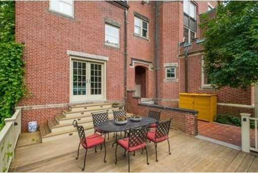 Beautifully fenced landscaped grounds w/perennial garden & outdoor spaces, 3 car garage plus additional parking, Minutes to Runkle School, Waldstein Park, C&D lines, The Street & the best of what Brookline has to offer!