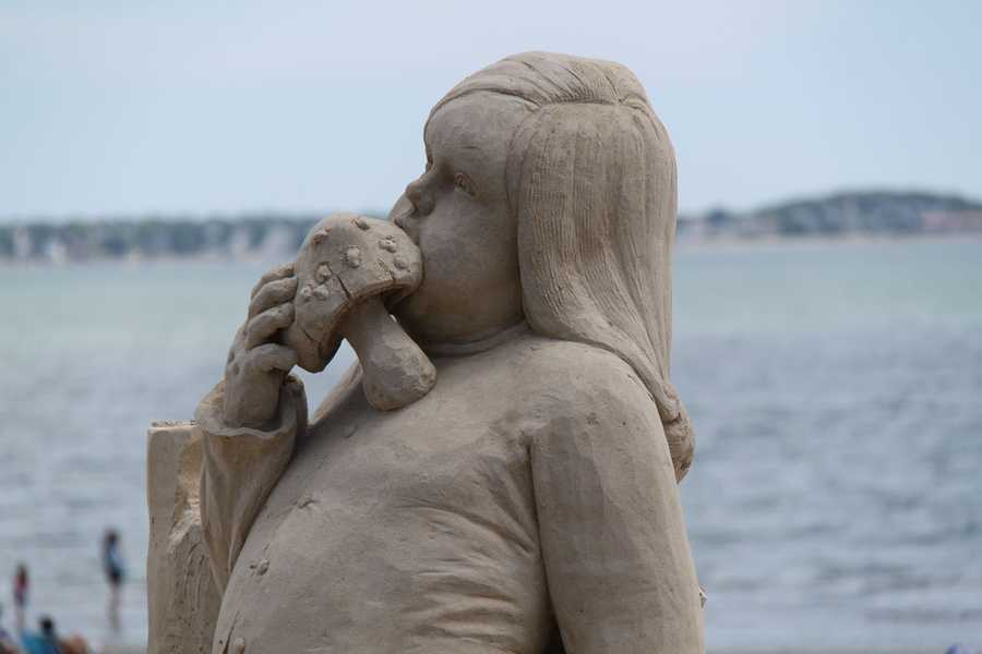 David started sand sculpting in 2001.  He has participated in 26 competitions around the world.