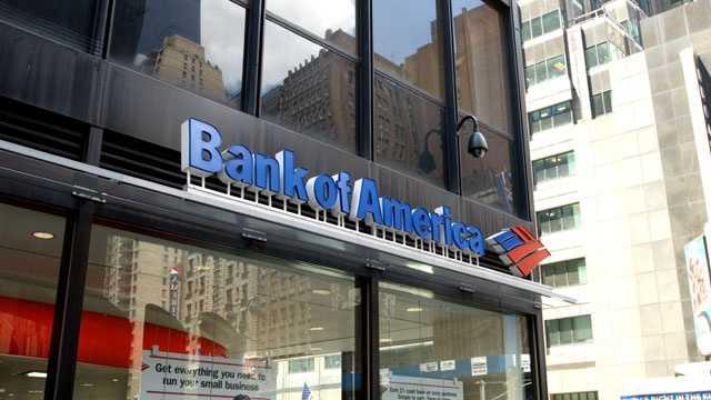 3.) Bank of America