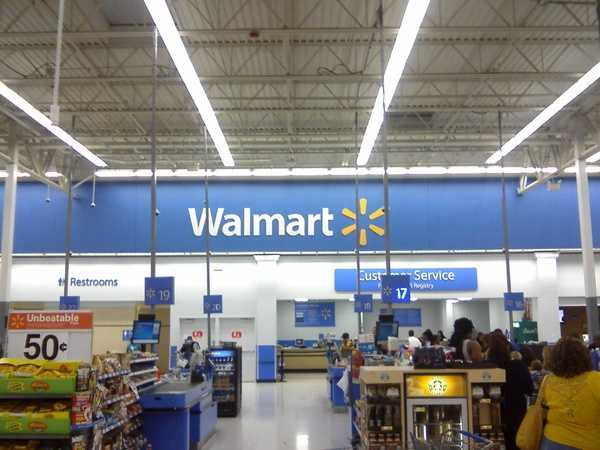 10.) Walmart