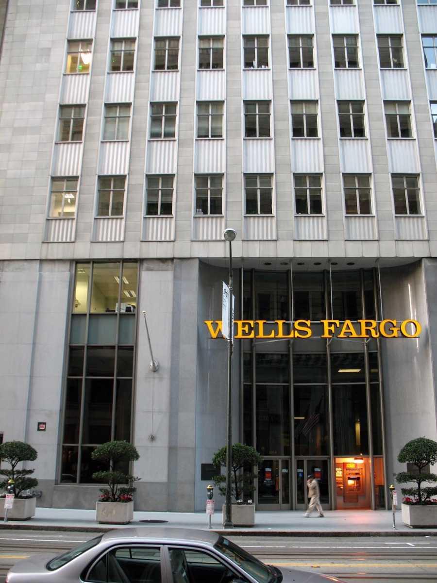 9.) Wells Fargo