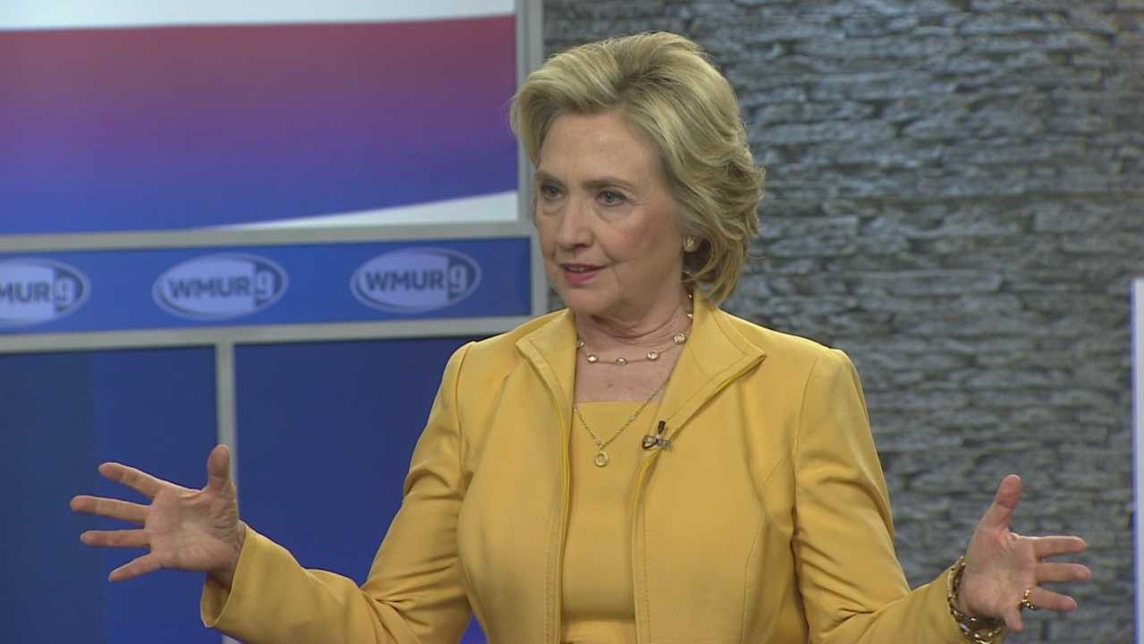 Democratic presidential candidate Hillary Clinton joins Josh McElveen for an extended web edition of Conversation with the Candidate