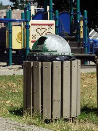 In Massachusetts it's a trash bin.