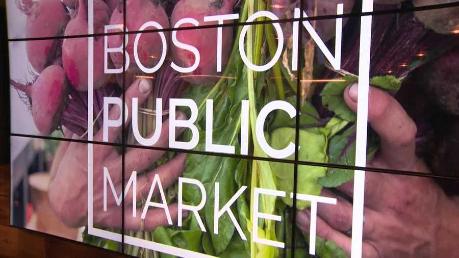 The Boston Public Market opened its doors Thursday, bringing fresh, local food to the people of Boston five days a week.